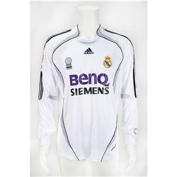 Ronaldo Game-Worn Real Madrid Jersey