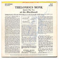 Thelonious Monk Signed Album