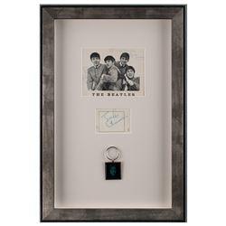 Beatles Signed Display