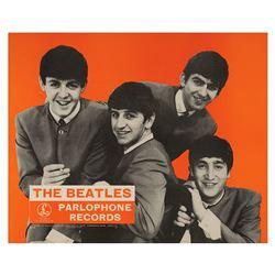 Beatles E.M.I. Promotional Poster