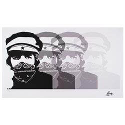 Beatles: Ringo Starr Signed Print