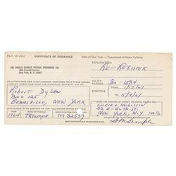 Bob Dylan (3) Documents