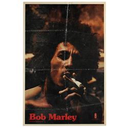 Bob Marley and the Wailers Signed Catch a Fire Poster