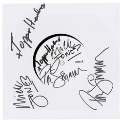 The Clash Signed Test Pressing