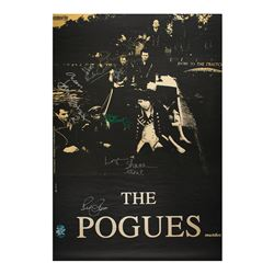 The Pogues Signed Poster