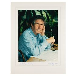 John Cage Signed Photograph