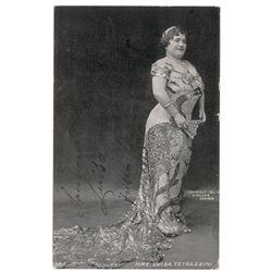 Luisa Tetrazzini Signed Photograph
