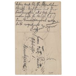 Siegfried Wagner Autograph Letter Signed