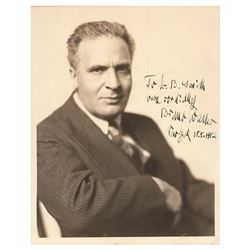 Bruno Walter Signed Photograph