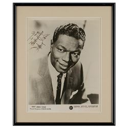 Nat King Cole Signed Photograph