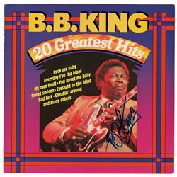 B. B. King Signed Album