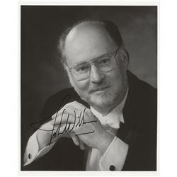 John Williams Signed Photograph