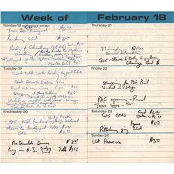 Harry Chapin's 1974 Datebook