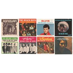 60s Music (175+) 45 RPM Record Sleeves