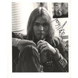 Gregg Allman Signed Photograph