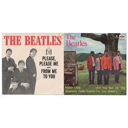 Beatles (38) 45 RPM Record Sleeves