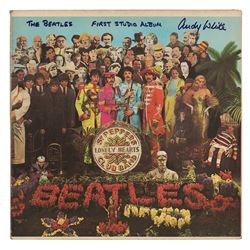 Beatles: Andy White Signed Album