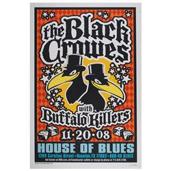 The Black Crowes Poster by Uncle Charlie Hardwick