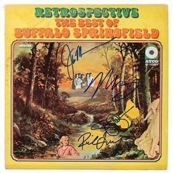 Buffalo Springfield Signed Album