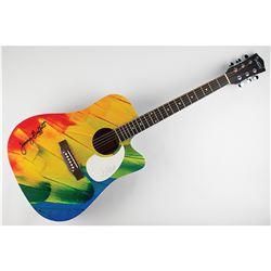 Jimmy Buffett Signed Guitar