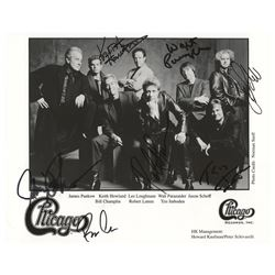 Chicago Signed Photograph