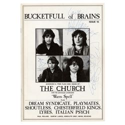 The Church Signed Music Magazine