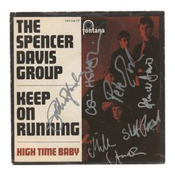 The Spencer Davis Group Signed 45 RPM Record