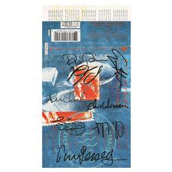 Dire Straits Signed Cassette Tape J-card