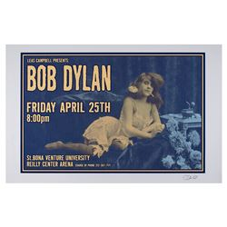 Bob Dylan Poster by Uncle Charlie Hardwick