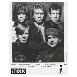 The Fixx (3) Signed Items