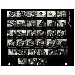 Fleetwood Mac Contact Sheet Photograph