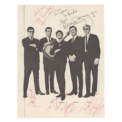 Freddie and the Dreamers Signed Photograph