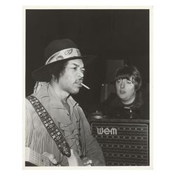 Jimi Hendrix Original Photograph