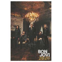 Jon Bon Jovi Signed Poster