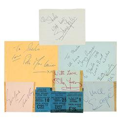 1960s Liverpool Music Autograph Book