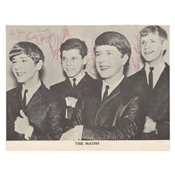 The McCoys Signed Photograph