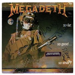 Megadeth: Dave Mustaine and Steve Jones Signed Album