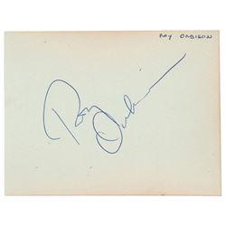 Roy Orbison Signature
