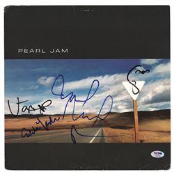 Pearl Jam Signed Album