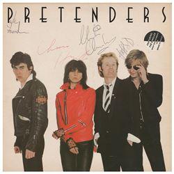 The Pretenders Signed Album