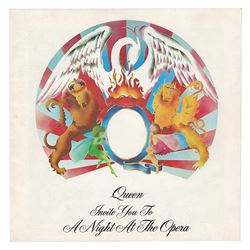 Queen 1976 U.S. A Night at the Opera Tour Program