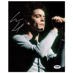 Lou Reed Signed Photograph