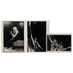 Rock Singers (3) Original Photographs
