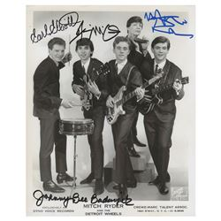 Mitch Ryder and the Detroit Wheels Signed Photograph