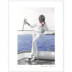 Rod Stewart Print by Richard E. Aaron
