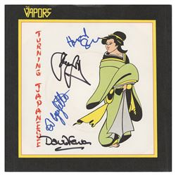 The Vapors Signed 45 RPM Record