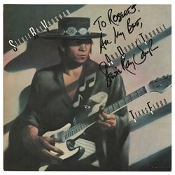 Stevie Ray Vaughan Signed Album