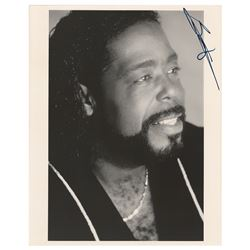 Barry White Signed Photograph
