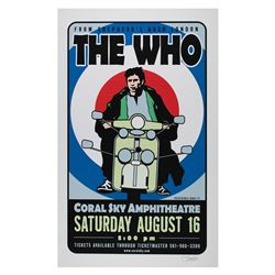 The Who Poster by Uncle Charlie Hardwick