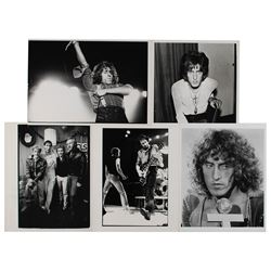 The Who (5) Original Photographs